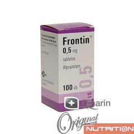FRONTIN - 100x - 0,5mg - Alprazolamum