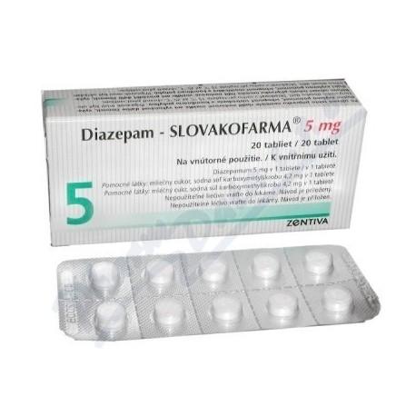 DIAZEPAM - 20x - 5mg