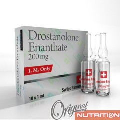 Drostanolone Enanthate 200mg Swiss Remedies