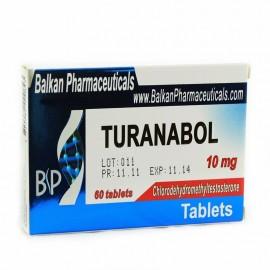 Turanabol Balkan Pharmaceuticals 60 tabs (10 mg/tab)