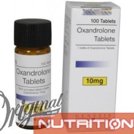 Oxandrolone Tablets Genesis  (10 mg/tab) 100 tabs