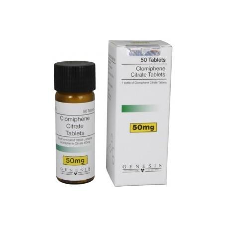 Clomiphene Citrate Tablets Genesis (50 mg/tab) 100 tabs