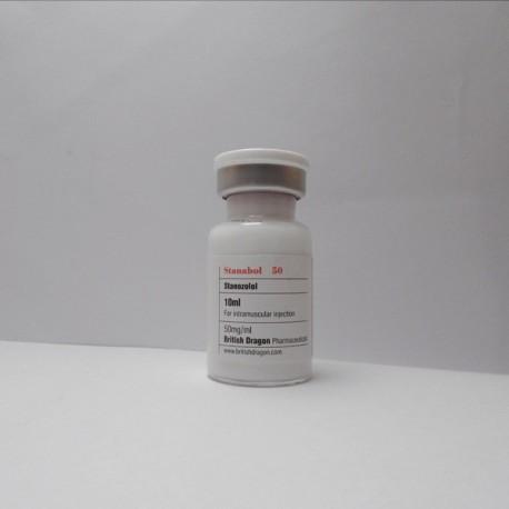 Stanabol 50 British Dragon (50 mg/ml) 10 ml