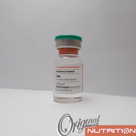 Testabol Enanthate British Dragon (250 mg/ml) 10 ml