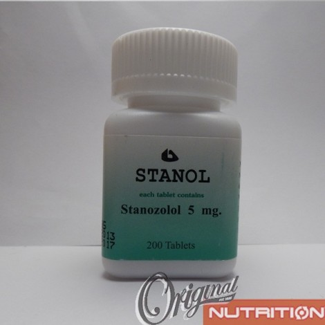 Stanol Body Research (5 mg/tab) 200 tabs