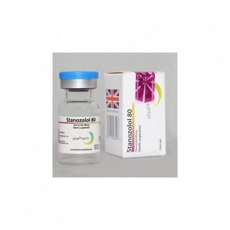 Stanozolol 80 Elite Pharm 80mg/1ml (10ml)